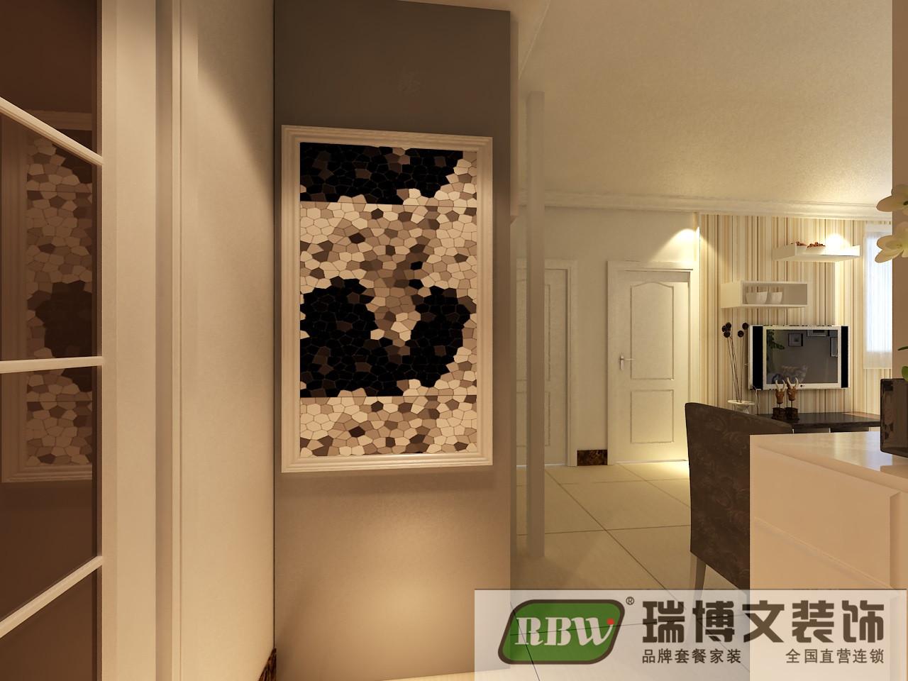 简约 二居 玄关图片来自石家庄瑞博文张琳在4.1万打造锦融尚御现代简约风的分享