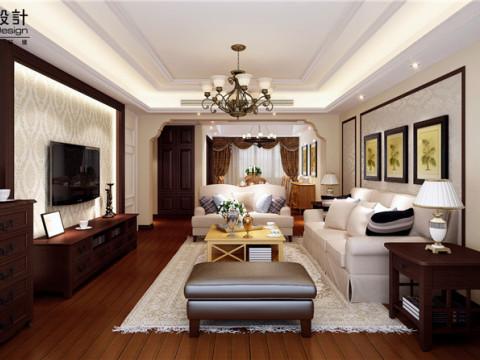 水清木华三居室新欧式风格设计