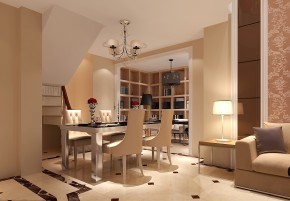 简约 欧式 混搭 白领 收纳 小资 高度国际 小清新 温馨舒适 餐厅图片来自高度国际王慧芳在简约欧式M5郎峰的分享
