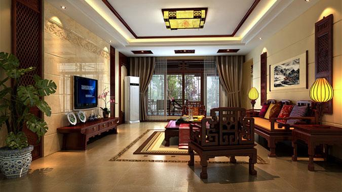 三居 新中式 龙湖 北京装修 北京设计 别墅设计 别墅装修 客厅图片来自高度国际装饰韩冰在8万打造龙湖时代天街三居新中式的分享