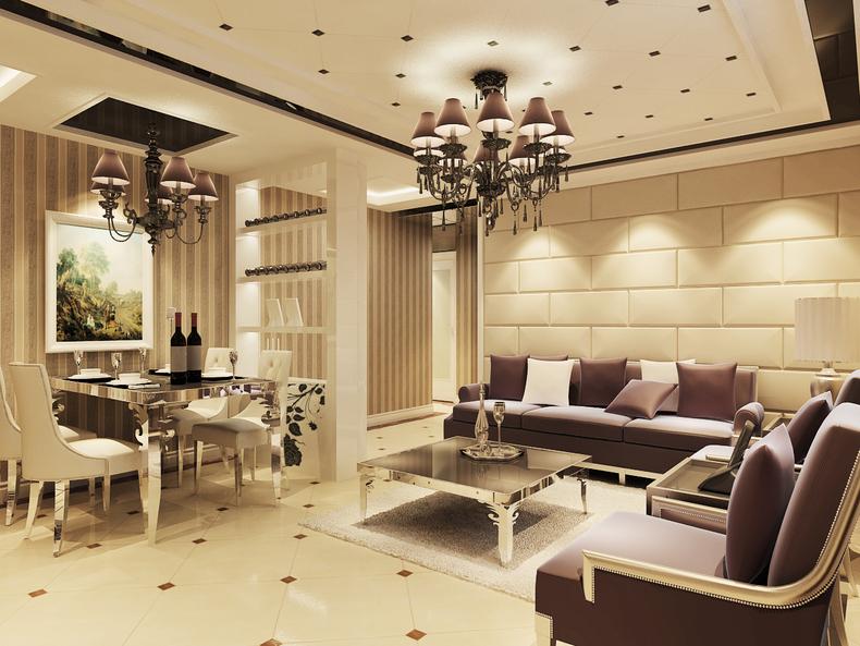 客厅图片来自今朝装饰小闫在安慧北里逸园17号楼的分享