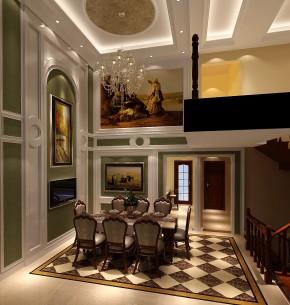 简约 混搭 现代 别墅 白领 收纳 小资 高度国际 小清新 餐厅图片来自高度国际王慧芳在简约欧式中海尚湖世家的分享