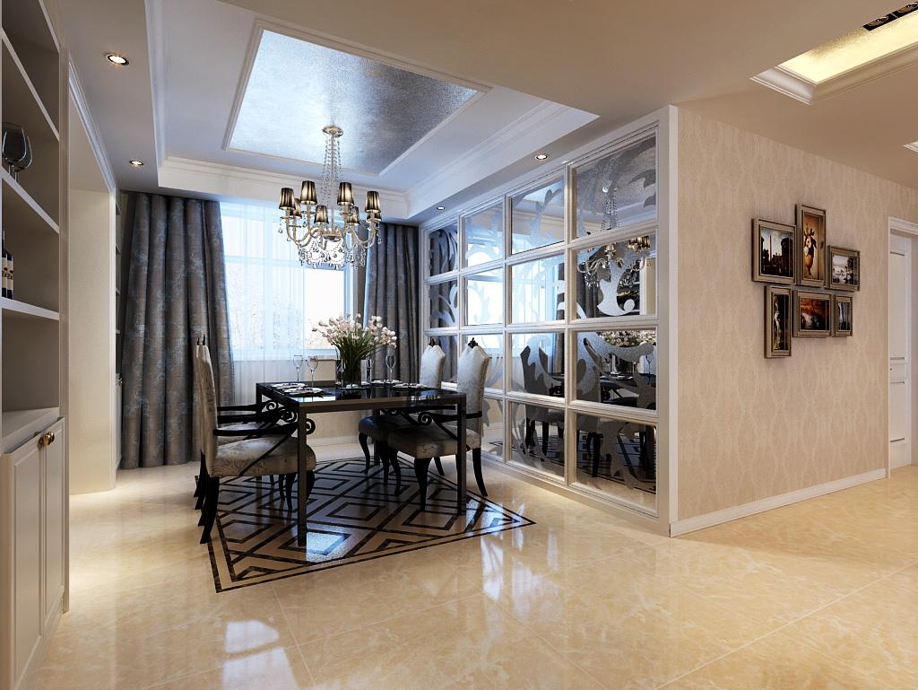 简约 欧式 环保 大气 高贵典雅 餐厅图片来自框框在简欧风格,家居设计潮流趋势的分享