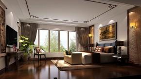 西山壹号院 高度国际 平层 中式 白领 80后 时尚 婚房 白富美 卧室图片来自北京高度国际装饰设计在西山壹号院中国范的分享