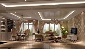 高度国际 混搭 三居 白领 80后 小资 白富美 高富帅 复式 餐厅图片来自北京高度国际装饰设计在鲁能七号院复式奢华公寓的分享