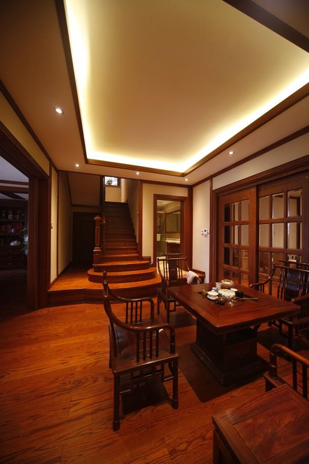 别墅 中式 餐厅图片来自成都家和在西江紫苑中式的分享