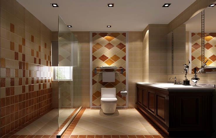 中式 三居 小资 红木家具 卫生间图片来自高度国际装饰刘玉在6.5打造经典中式的分享