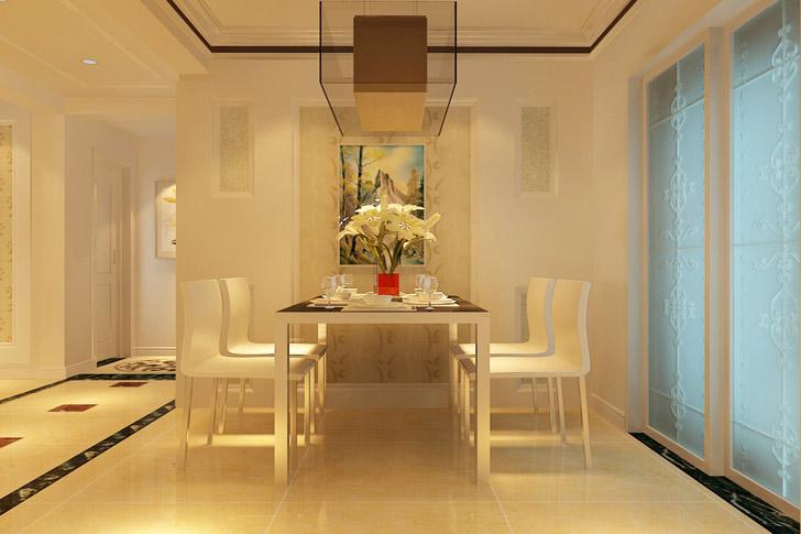 业之峰装饰 海德花园 现代简约 三居 餐厅图片来自石家庄业之峰装饰在晋州海德花园现代简约的分享