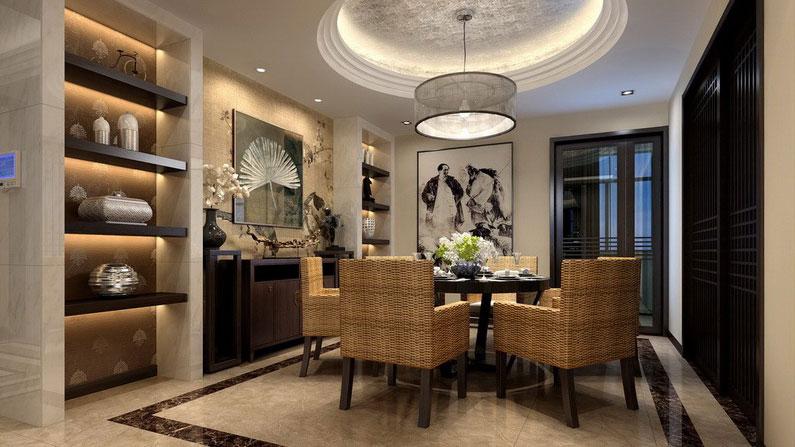 二居 中式 北京设计 北京装修 别墅设计 别墅装修图片来自高度国际装饰韩冰在新中式尽显中国风的分享