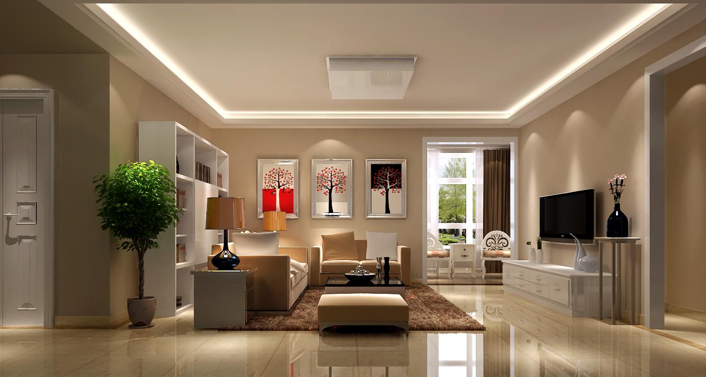简约 现代 高度国际 三居 白领 80后 时尚 婚房 白富美 客厅图片来自北京高度国际装饰设计在K2百合湾126平现代三居的分享