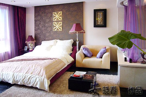 卧室图片来自今朝装饰小闫在朝阳区北辰亚奥观点E座的分享