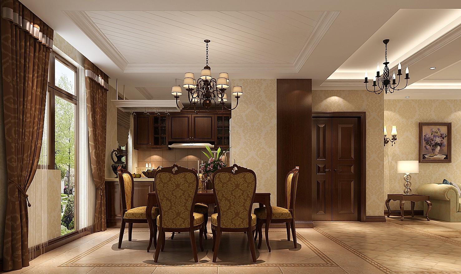 简约 现代 高度国际 三居 白领 80后 时尚 婚房 白富美 餐厅图片来自北京高度国际装饰设计在K2百合湾126平现代三居的分享