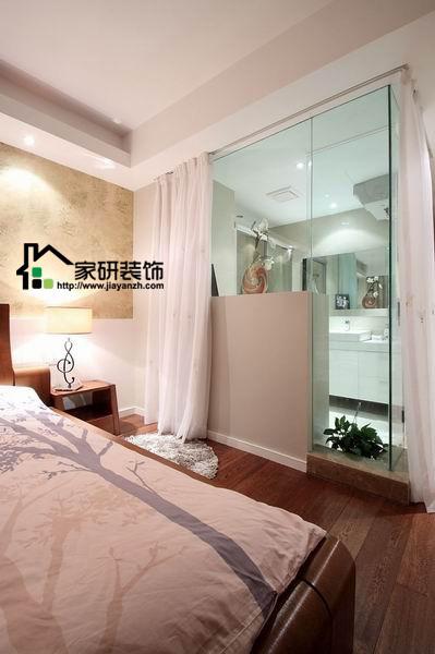 简约 欧式 田园 混搭 二居 三居 别墅 白领 收纳 卧室图片来自上海倾雅装饰有限公司在清新淡雅三居室的分享