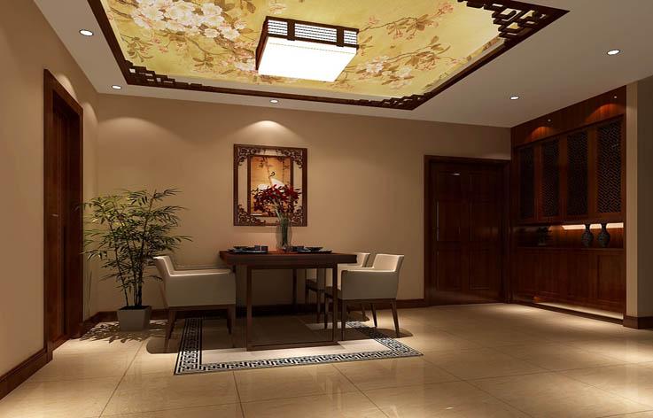 中式 二居 三居 别墅 白领 收纳 旧房改造 80后 小资 餐厅图片来自周楠在中式风格公寓的分享