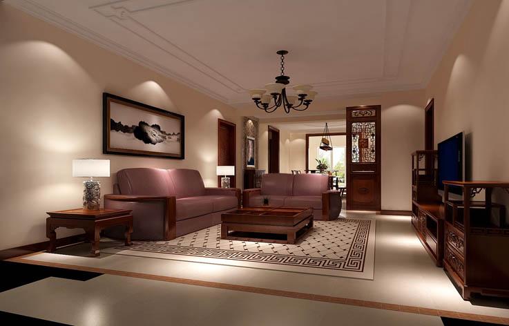 中式 三居 小资 红木家具 客厅图片来自高度国际装饰刘玉在6.5打造经典中式的分享