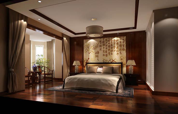中式 二居 三居 别墅 白领 收纳 旧房改造 80后 小资 卧室图片来自周楠在中式风格公寓的分享