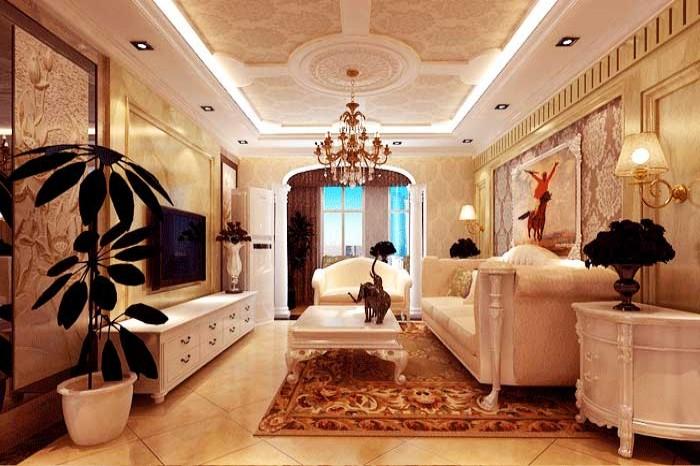 客厅图片来自亚光亚神设手富成在欧式风格案例的分享