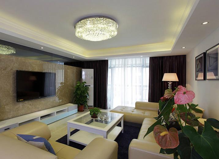 简约 二居 混搭 三居 客厅图片来自北京实创装饰在路劲世界城的分享