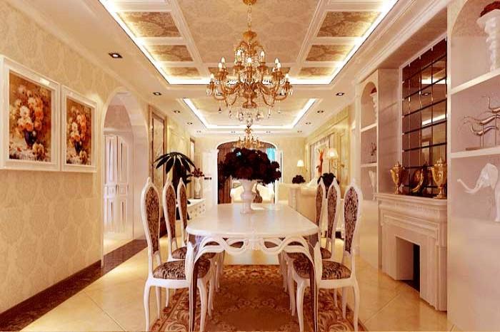 餐厅图片来自亚光亚神设手富成在欧式风格案例的分享