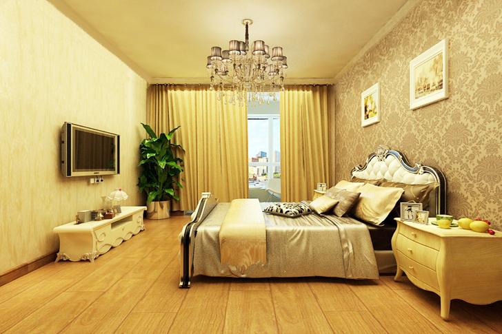 维多利亚 业之峰装饰 简约欧式 三居 卧室图片来自石家庄业之峰装饰在维多利亚简约欧式三居室的分享