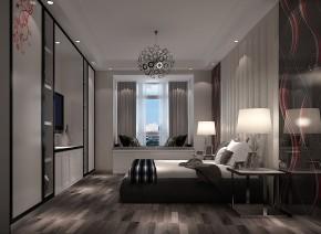 简约 现代 混搭 白领 收纳 小资 高度国际 小清新 温馨舒适 卧室图片来自高度国际王慧芳在5万打造2室2厅1卫中景江山赋的分享