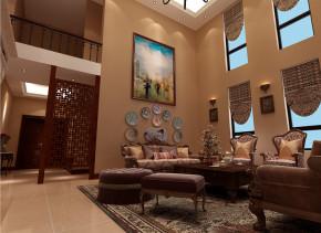 新古典 别墅 度假 舒适 客厅图片来自武汉实创装饰在盛夏避暑,红莲湖度假屋的分享