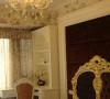 名雕装饰设计—香蜜湖一号华皓阁平层—欧式风格—卧室