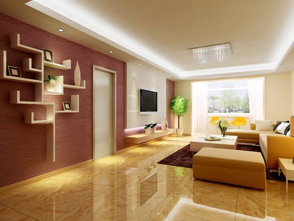 天通东苑小区复式结构170平米现代简约风格老房重装设计案例——一层门厅