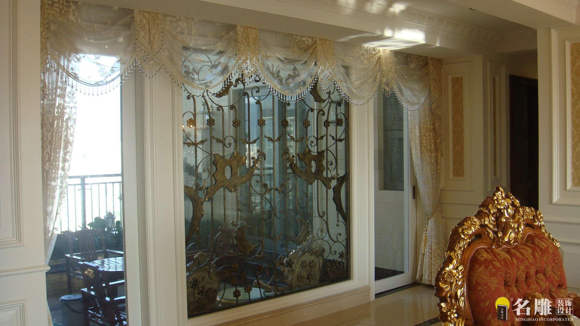 欧式 四居室 香蜜湖一号 高富帅 暖色调装饰 名雕装饰 其他图片来自名雕装饰设计在香蜜湖一号华皓阁欧式奢华空间的分享