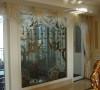 名雕装饰设计—香蜜湖一号华皓阁平层—欧式风格—门厅