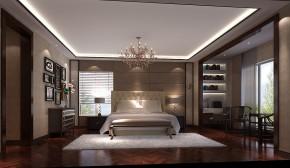 西山壹号院 别墅 白领 80后 港式 高度国际 白富美 时尚 高富帅 卧室图片来自北京高度国际装饰设计在西山壹号院港式平层的分享