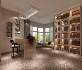 简约 欧式 高度国际 三居 白领 80后 小资 白富美 高富帅 书房图片来自北京高度国际装饰设计在御翠尚府三居简欧的分享