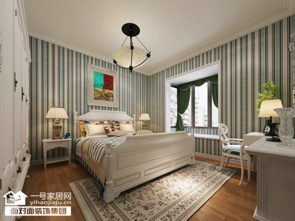 让人心旷神怡是休闲卧室色彩中的主题,协调、平衡和健康是这个主题的重点。