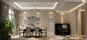 高度国际 简约 三居 白领 80后 时尚 温馨 白富美 高富帅 餐厅图片来自北京高度国际装饰设计在西山壹号院简约不简单的分享