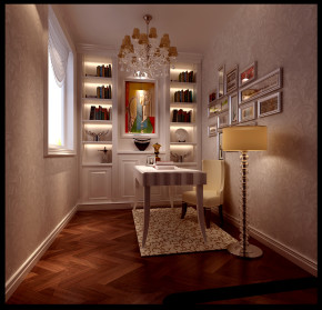 简约 混搭 欧式 别墅 白领 收纳 小资 高度国际 小清新 书房图片来自高度国际王慧芳在简欧风格潮白河孔雀城的分享