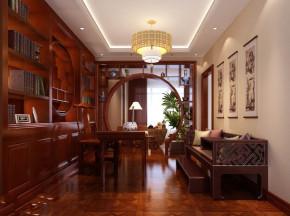 高度国际 影人四季 三居 现代 白领 80后 白富美 时尚 高富帅 书房图片来自北京高度国际装饰设计在影人四季现代三居演绎完美的分享