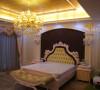 名雕丹迪别墅设计万科棠樾豪宅欧式主人房
