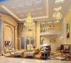 名雕丹迪别墅设计万科棠樾豪宅欧式客厅