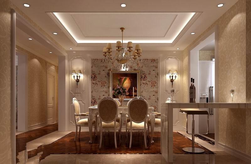 高度国际 影人四季 三居 现代 白领 80后 白富美 时尚 高富帅 餐厅图片来自北京高度国际装饰设计在影人四季现代三居演绎完美的分享