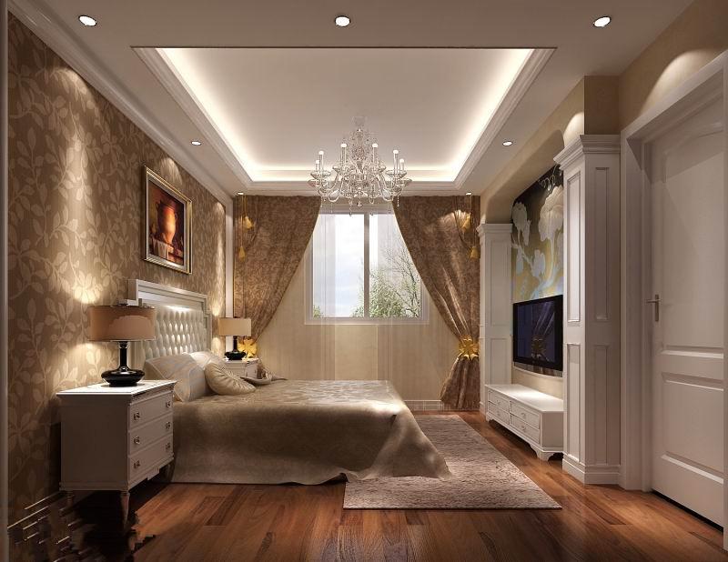 高度国际 影人四季 三居 现代 白领 80后 白富美 时尚 高富帅 卧室图片来自北京高度国际装饰设计在影人四季现代三居演绎完美的分享