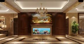 欧式 高度国际 三居 白领 80后 白富美 时尚 婚房 高富帅 玄关图片来自北京高度国际装饰设计在远洋东方家园180平欧式花园洋房的分享