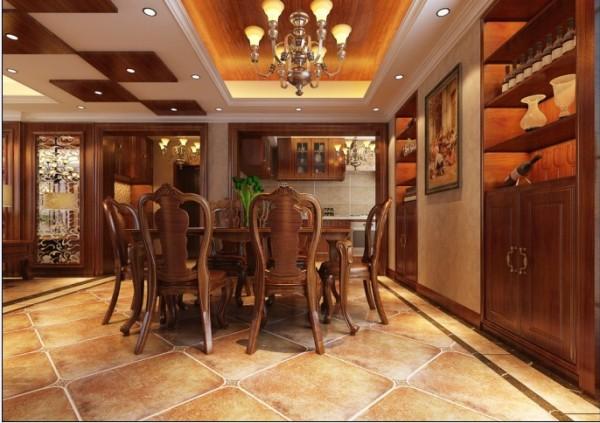 餐厅及酒柜的设计