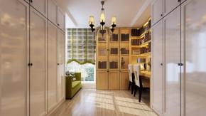 二居 简约 现代 舒适 温馨 北京装修 书房图片来自高度国际装饰韩冰在玉泉营公寓108㎡现代简约的分享
