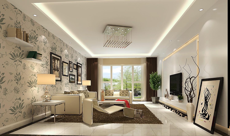 三居 简约 白领 80后 小资 客厅图片来自高度国际装饰刘玉在恩爱小两口的温馨的家的分享