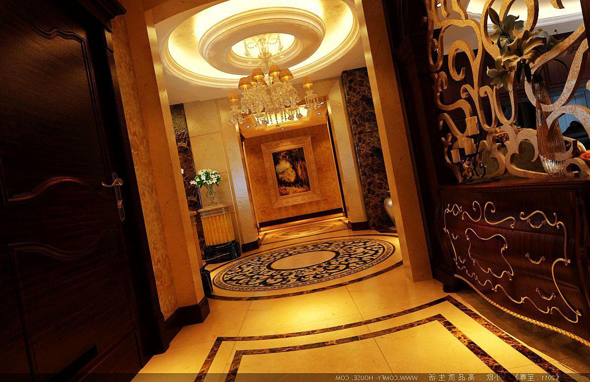 欧式 别墅 白领 客厅 卧室 孔雀城 其他图片来自实创装饰百灵在奢华欧式四居的分享