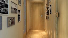 二居 现代 简约 舒适 温馨 玄关图片来自高度国际装饰韩冰在东方世纪园100㎡现代简约效果的分享