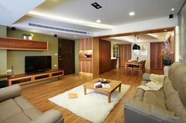 简约 现代 时尚 高度国际 三居 白领 80后 白富美 高富帅 客厅图片来自北京高度国际装饰设计在132平原木色系三居室的分享