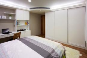 简约 现代 时尚 高度国际 三居 白领 80后 白富美 高富帅 儿童房图片来自北京高度国际装饰设计在132平原木色系三居室的分享