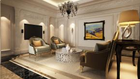 四居 新古典 传统 低调奢华 舒适 北京设计 北京装修 客厅图片来自高度国际装饰韩冰在北辰上院140㎡新古典效果的分享