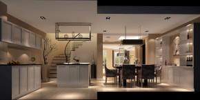 现代 时尚 高度国际 别墅 白领 80后 小资 白富美 高富帅 厨房图片来自北京高度国际装饰设计在香溪渡关山悦精雕细刻现代别墅的分享